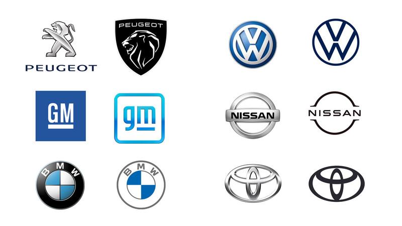 Diseño: La era de los logos planos