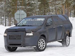 La nueva pick up compacta de FIAT espiada