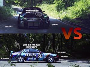 Video: Nissan GT-R se enfrenta con su predecesor