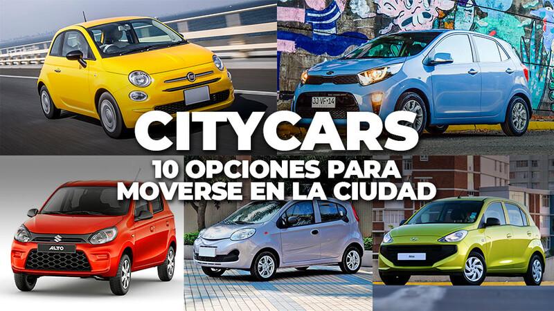 Citycars en Chile: 10 opciones para moverse en la ciudad