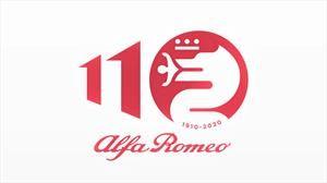 Alfa Romeo actualiza su logo en honor a sus 110 años