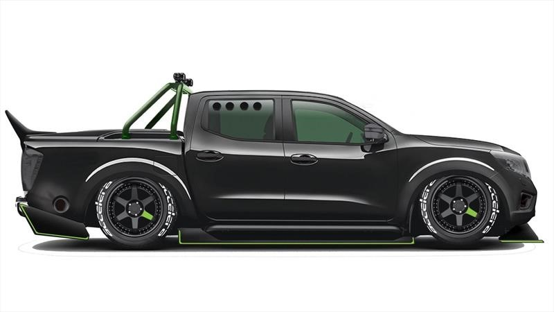 Esta Nissan Frontier dotada del motor del GT-R, tiene ¡1,000 caballos de fuerza!