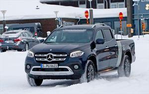 Mercedes Benz Clase X, el elegante pickup de doble cabina ahora será mas largo