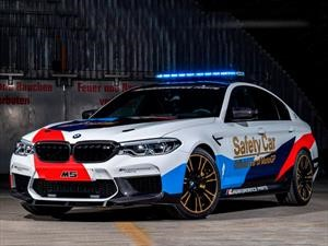BMW M celebra 20 años de ser el safety car del Moto GP