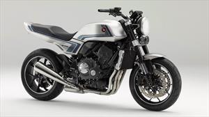 Honda CB-F Concept es una motocicleta con estilo retro y un desempeño superior