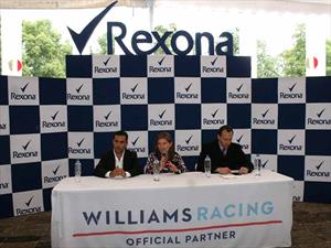 Escudería Williams Racing calienta motores para el Gran Premio de México 2015