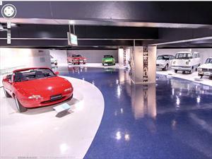Visitá el museo de Mazda con Street View de Google Maps