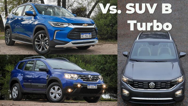 VW T-Cross Vs Tracker Vs Duster 1.3T ¿Cuál SUV B Turbo me compro?