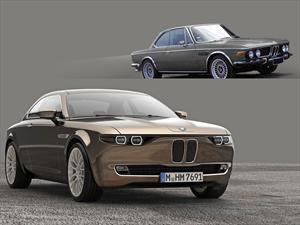 BMW CS Vintage Concept, tributo a los íconos bávaros
