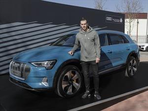 Jugador del Real Madrid conducirá un Audi e-tron el resto de la temporada