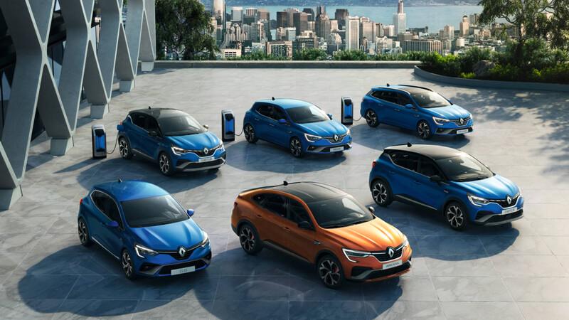 Renault eWays: camino lleno de eléctricos e híbridos