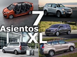 Los vehículos grandes de 7 asientos o más que podés comprar en Argentina