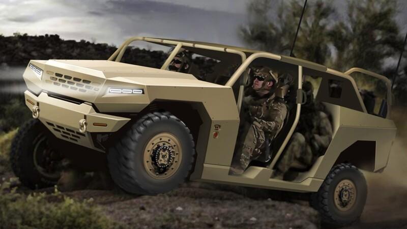 KIA trabaja en la fabricación de un Hummer militar