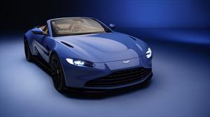 Aston Martin Vantage Roadster se deja ver previo a su debut en Ginebra