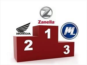 Zanella se mantiene como la marca más vendida de motos en julio