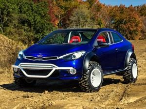 Kia Forte Koup Mud Bogger, tuning off-road