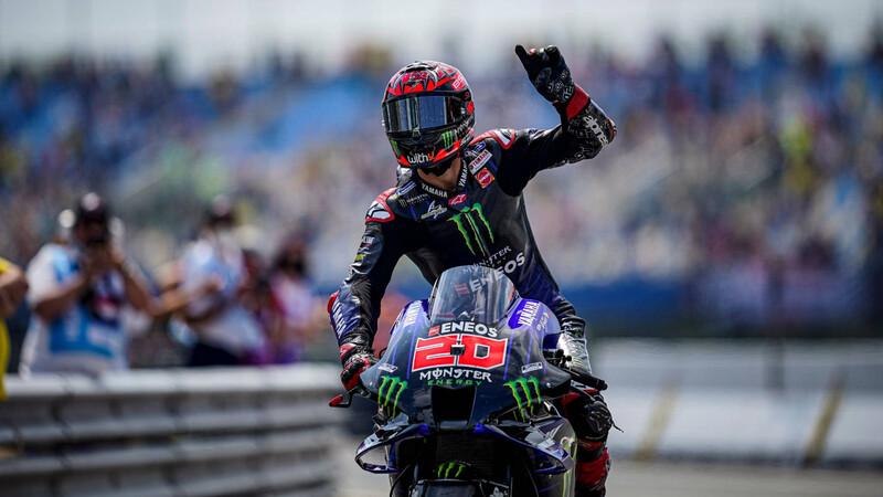 """MotoGP 2021: El """"Diablo"""" Quartararo se va de vacaciones como súper líder del campeonato"""