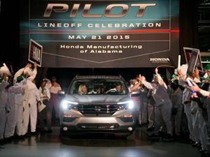 Honda inicia la producción del Pilot 2016