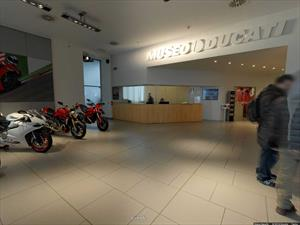 Una visita el museo de Ducati con Google Maps