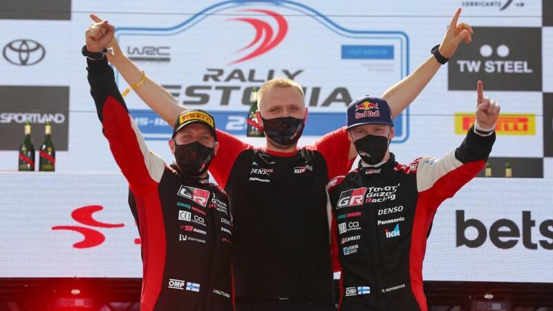 WRC 2021: Rovanpera hace historia en Estonia