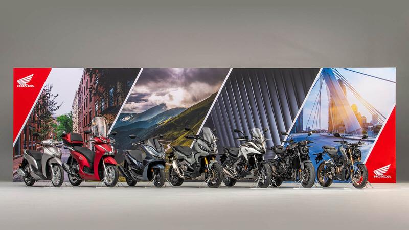 Honda hace resplandecer su vitrina y anuncia 7 novedades para 2021