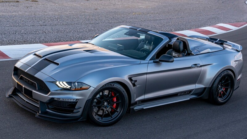 Shelby Super Snake Speedster 2021: exclusivo muscle car sobrepotenciado