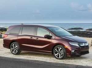 Honda Odyssey 2018 es la primer minivan con Wi-Fi 4G LTE