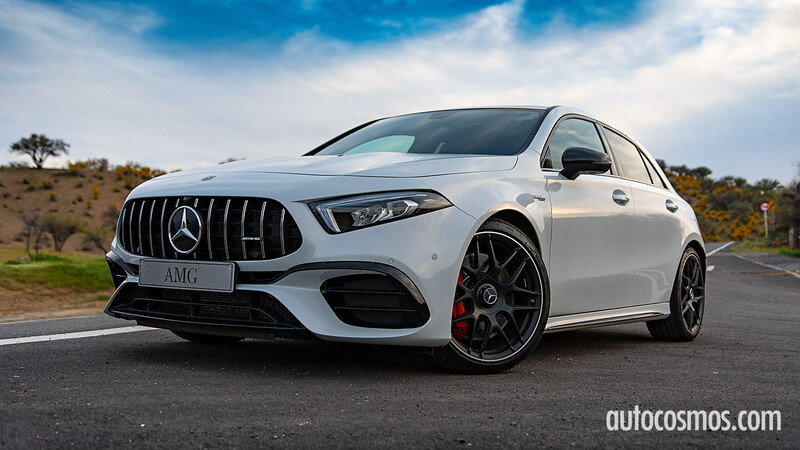 Test Drive Mercedes-AMG A 45 S 2021, un hot hatch profesional