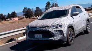 Chevrolet Trailblazer 2021 es espiada