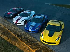 Chevrolet diseña cuatro ediciones especiales del Corvette inspiradas en modelos de competición