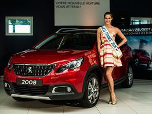 Peugeot entrega un 2008 para Miss France 2016
