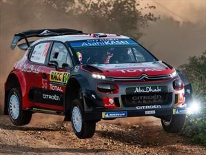 WRC 2018: Loeb muestra su maestría en España