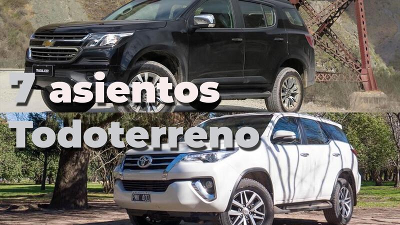 Toyota SW4 y Chevrolet Trailblazer: 7 asientos todoterreno