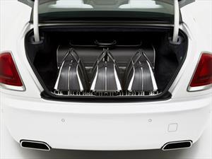 Rolls-Royce diseña un set de maletas para el Wraith ¡no creerás el precio!