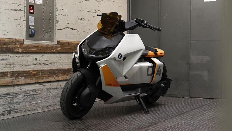 BMW Motorrad Definition CE 04, un scooter eléctrico virtualmente listo para producción