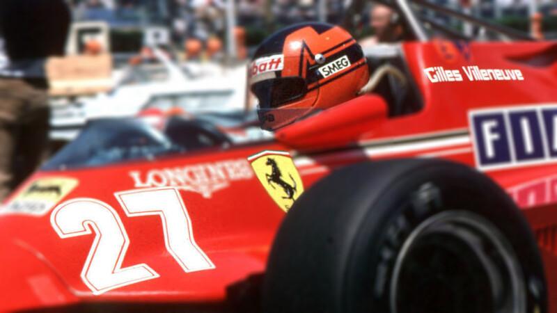La historia de los números en la F1