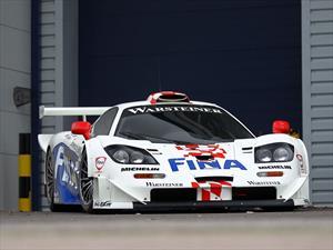 Subastaron un McLaren F1 GTR Longtail