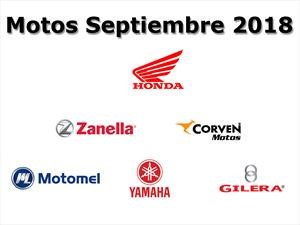 Top 10: Las marcas de motos que más vendieron en septiembre 2018
