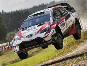 Tänak y Toyota se imponen en el Rally de Finlandia 2018