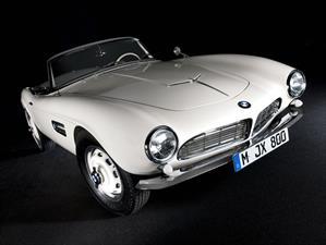 El 507 de Elvis fue restaurando por BMW Group Classic