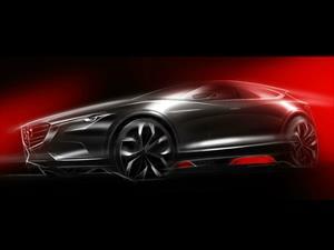 Así es el Mazda Koeru Concept, ¿será el regreso de la CX-7?
