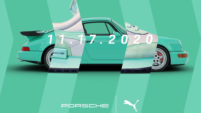 Porsche se une a Puma para homenajear al 911