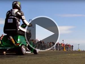 Video: mirá al Scooter más rápido del mundo