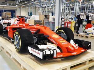 Lego crea un auto de la Fórmula 1 en tamaño real