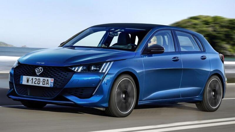 El nuevo Peugeot 308 2021 fue captado durante su fase de pruebas