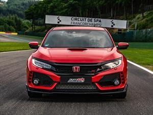 Honda Civic Type R impone récord en el circuito de Spa-Francorchamps