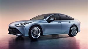 Toyota Mirai 2021, el auto a hidrógeno anuncia 500 km de autonomía