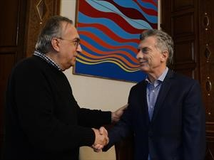 Mauricio Macri se reunió con Sergio Marchionne