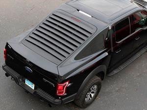 Imagínate una Ford F150 con el toldo de un Mustang Mach 1