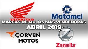 Top 10: Las marcas de motos más vendedoras de abril 2019